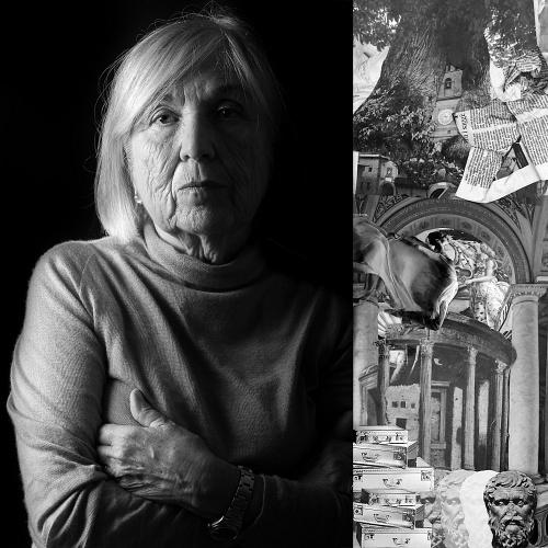 """Ilaria Marvelli / Giulia Maria Mozzoni Crespi - """"Giulia Maria Mozzoni Crespi, fondatrice del FAI - Fondo per l'Ambiente Italiano, è un esempio di lungimiranza, che ha agito con forza e dignità per la conservazione di questo straordinario Paese che è l'Italia. Mi ha coinvolto in un'idea comune, quella del FAI"""""""