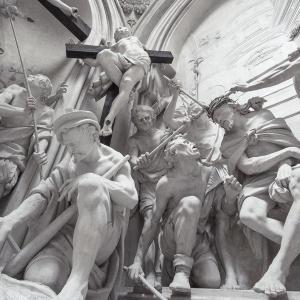 passione di Cristo . Chiesa di S. Agostino