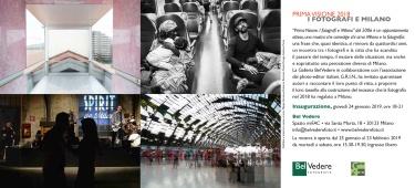 PRIMA VISIONE 2018 - GALLERIA BELVEDERE - MILANO