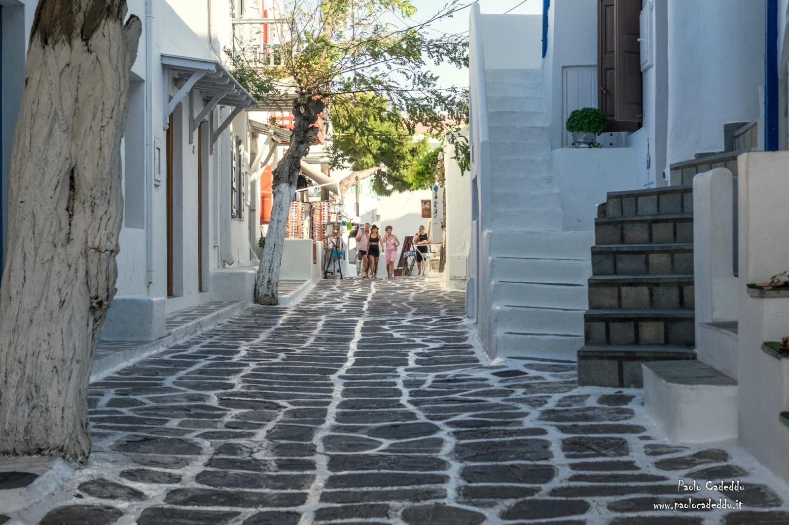 Grecia, isole di Paros e Mykonos