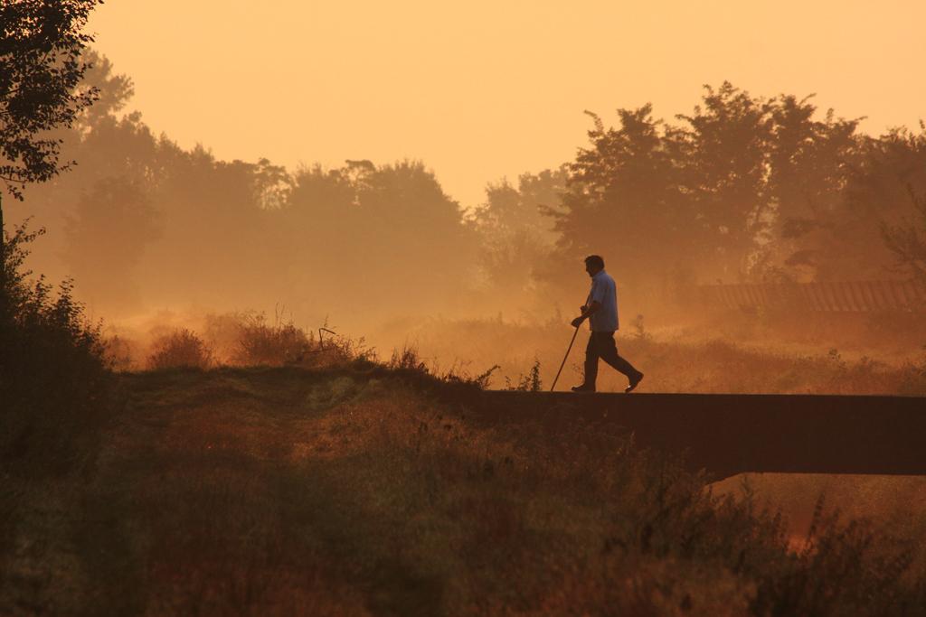 Passeggiata di primo mattino