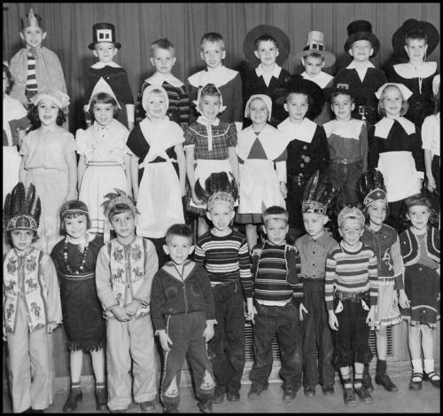 Thanksgivingday - Charlottesville, 1953