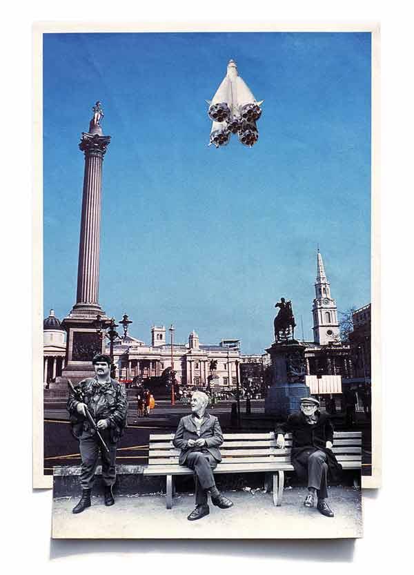 Sean Hillen, Newry Gagarin # 8 (1992), 30 x 46 cm