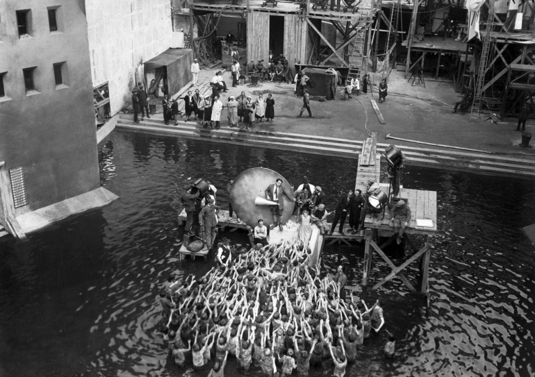 Fritz Lang, Metropolis (backstage); 1927