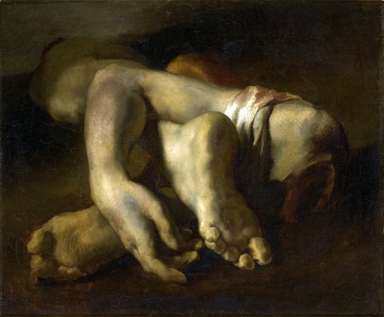 Géricault / Etude