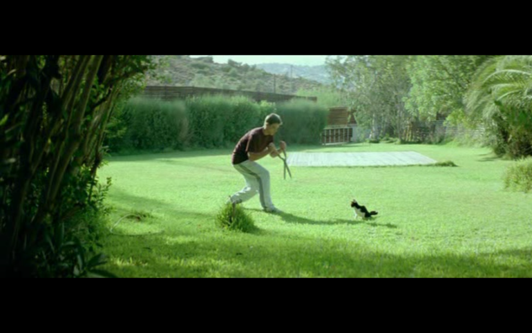 "Still from the film: ""Kynodontas - Dogtooth"" by Jorgos Lanthimos (2009)"
